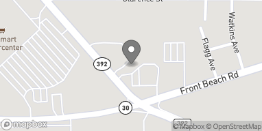Map of 9998A Front Beach Rd in Panama City