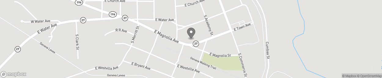 Map of 711 East Town Avenue in Geneva