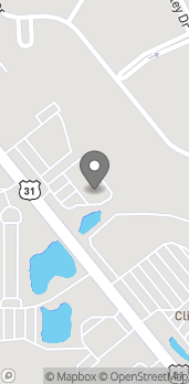 Map of 1425 N National Rd in Columbus