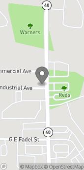 Map of 804 S. Kalamazoo Street in Paw Paw