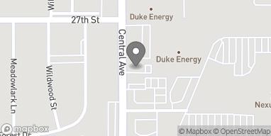 Mapa de 2615 Central Ave en Columbus