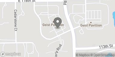 Mapa de 11386 Olio Road en Fishers