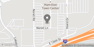 Map of 13901 Town Center Blvd in Noblesville