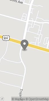 Mapa de 1205 Hwy 231 South en Troy