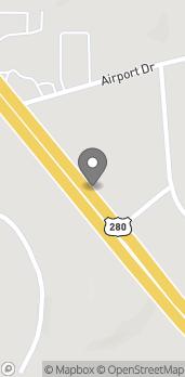Map of 4529 Highway 280 in Alexander City