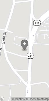 Mapa de 901 Rainbow Drive en Gadsden