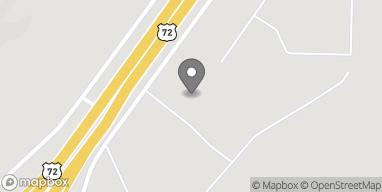 Map of 24663 John T. Reid Parkway in Scottsboro