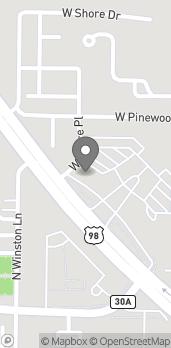 Mapa de 12805 US Hwy 98 East en Inlet Beach