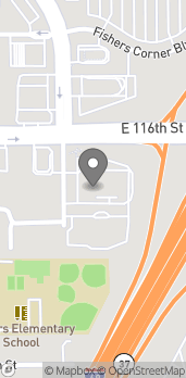 Map of 8973 E 116th Street in Fishers