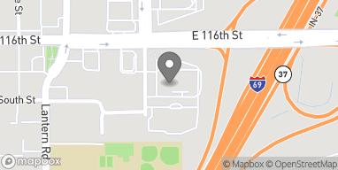 Mapa de 8973 E 116th Street en Fishers