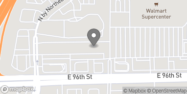 Map of 7858 East 96th Street in Fishers