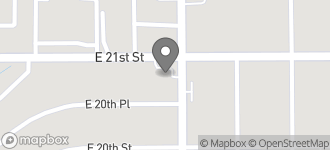 Map of 5443 East 21st Street in Indianapolis