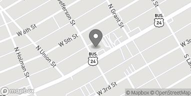 Mapa de 336 W Main St en Peru
