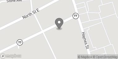 Mapa de 803 East Battle Street en Talladega