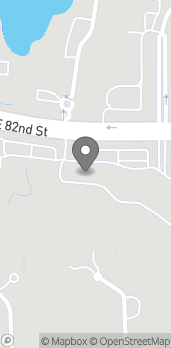 Map of 5025 East 82nd Street in Indianapolis