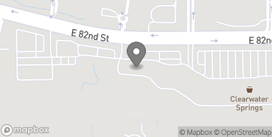 Map of 5025 E 82nd St in Indianapolis