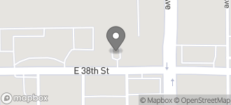 Map of 5044 East 38th Street in Indianapolis