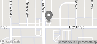 Map of 2501 N. Keystone Ave in Indianapolis