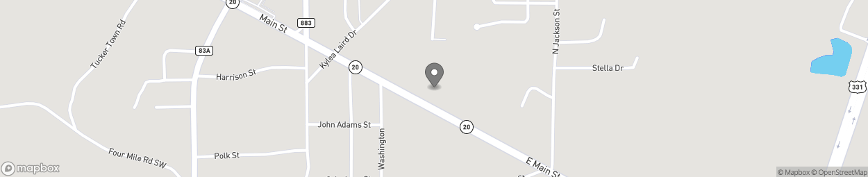 Map of 247 Hwy 20 E in Freeport