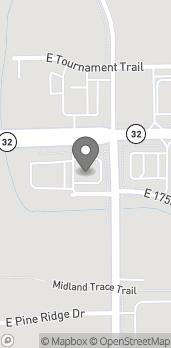 Map of 643 IN-32 in Westfield