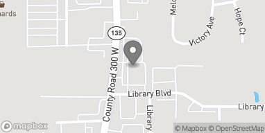 Map of 489 S State Rd 135 in Greenwood