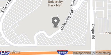 Map of 6501 N Grape Road in Mishawaka