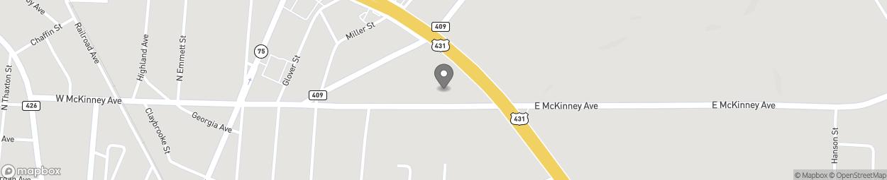 Map of 6855 US Highway 431 in Albertville