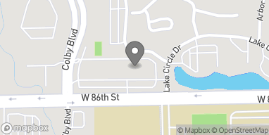 Map of 2902 W 86th St in Indianapolis