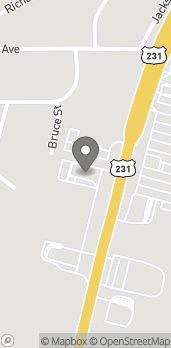 Map of 5271 Hwy 231 in Wetumpka
