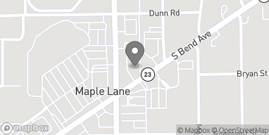 Map of 54600 Ironwood Rd in South Bend