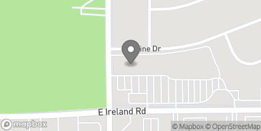 Map of 1121 E Ireland Rd in South Bend