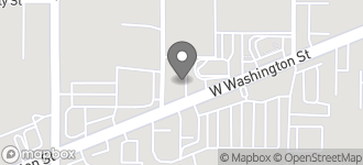 Map of 5170 W. Washington St. in Indianapolis