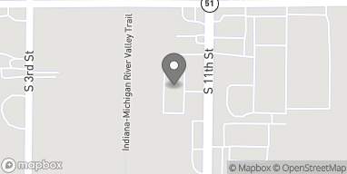 Map of 2726 S 11th St in Niles