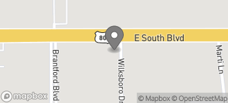 Map of 2450 East South Blvd in Montgomery