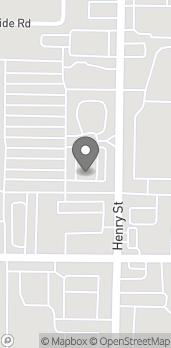 Mapa de 3295 Henry St en Muskegon