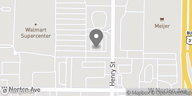 Map of 3295 Henry St in Muskegon