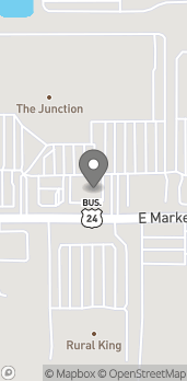 Map of 3920 E Market St in Logansport