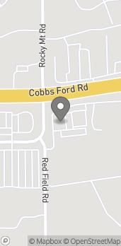 Mapa de 2510 Cobbs Ford Road en Prattville