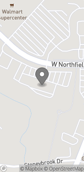 Map of 301 W Northfield Dr in Brownsburg