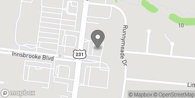 Map of 2943 South Church Street in Murfreesboro