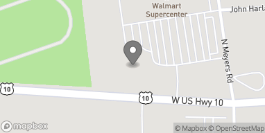 Mapa de 4916 W US Highway 10 en Ludington