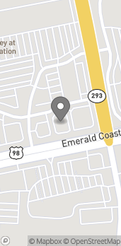 Map of 34907 Emerald Coast Parkway in Destin