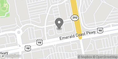 Map of 34907 Emerald Coast Parkway in Destin