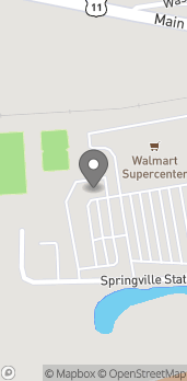 Mapa de 300 Springville Station Blvd en Springville