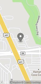 Mapa de 6599B Highway 431 S en Owens Cross Roads