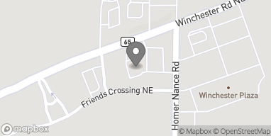 Mapa de 2190 Winchester Rd NE en Huntsville