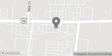 Mapa de 11324 Lebanon Road en Mount Juliet
