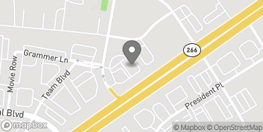 Map of 598 Sam Ridley Pkwy W in Smyrna