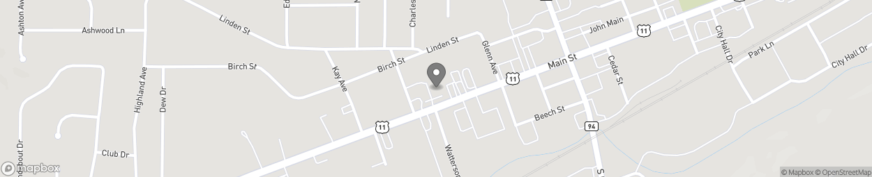Map of 318 Main Street in Trussville