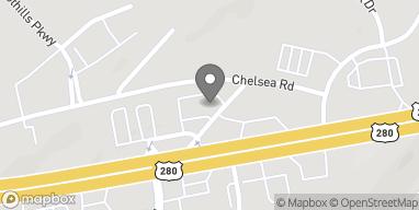 Map of 16700 US Hwy 280 in Chelsea